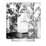 Twin Faces Shower Curtain