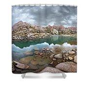 Twin Lakes - Weminuche Wilderness - Colorado Shower Curtain
