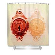 Twin Lock Shower Curtain