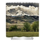 Twin Peaks Hang-in Color Shower Curtain