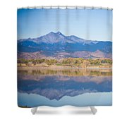 Twin Peaks Reflection Shower Curtain