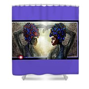 Twin Sisters Shower Curtain