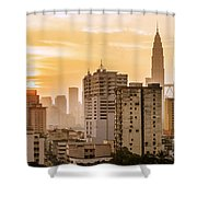 Twin Towers Shower Curtain