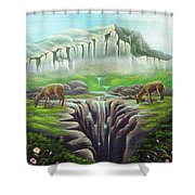 Twins Shower Curtain