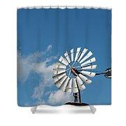 Twinwheel Shower Curtain