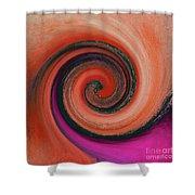 Twirl 07 Shower Curtain