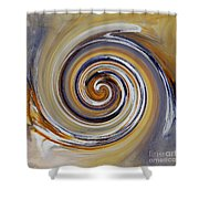 Twirl Art 0032 Shower Curtain