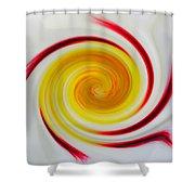 Twirled Cistus 1 Shower Curtain