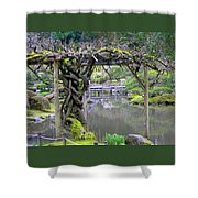 Twisted Arbor Shower Curtain