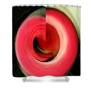 Twisted Calla Shower Curtain