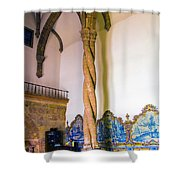 Twisted Columns Shower Curtain