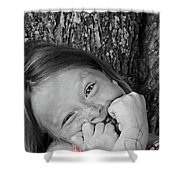 Twisted Expression Shower Curtain