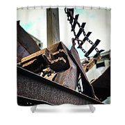 Twisted Fate Shower Curtain