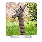 Twisted Giraffe - Colmar France Shower Curtain