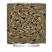 Twisted Magic Shower Curtain