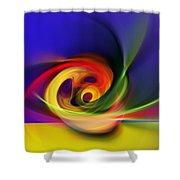 Twister Shower Curtain