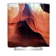 Twists And Turns, The Shape Of Time Shower Curtain
