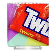 Twix Candy Shower Curtain