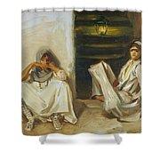 Two Arab Women Shower Curtain
