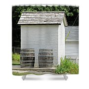 Two Barrels Shower Curtain