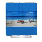 Two Boats Shower Curtain