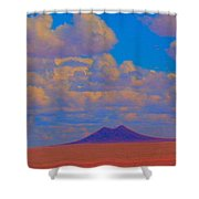 Two Butte Colorado Revisited Shower Curtain