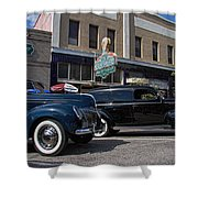 Two Cars Shower Curtain