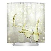 Festive Toast Shower Curtain