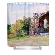 Two Civilizations. Shower Curtain