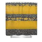 Two Country Yellow Shower Curtain