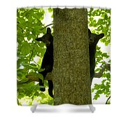 Two Cubs Shower Curtain