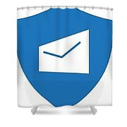 Two Factors Authentication Shower Curtain