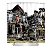 Two Ghosts Shower Curtain