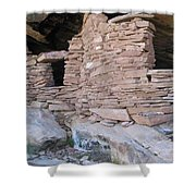 Two Graneries Shower Curtain