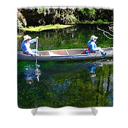 Two In A Canoe Shower Curtain