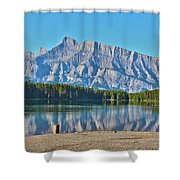 Two Jack Lake Shower Curtain