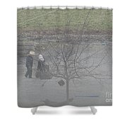 Two Little Buddies Shower Curtain