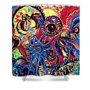 Elements Of Creation Shower Curtain