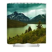 Two Medicine  Shower Curtain