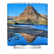 Two Medicine Reflections Shower Curtain