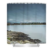 Two Minutes At Barry Island Shower Curtain
