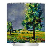 Two Oaks 56 Shower Curtain