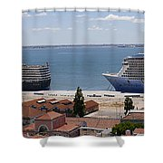 Magnificent Cruises Shower Curtain