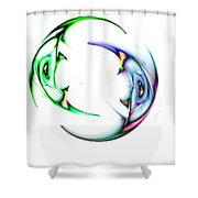 Two Of 1 Shower Curtain
