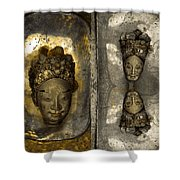 Two Part Panel Shower Curtain