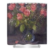 Two Petals Shower Curtain