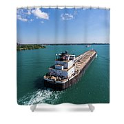 Two Ships Passing Shower Curtain