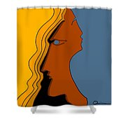 Two Sides Shower Curtain