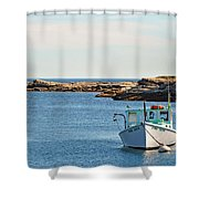Two Sons Shower Curtain