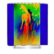 It Doesn't Have To Be Ugly To Be Art But It Is Surely Helpful  Shower Curtain